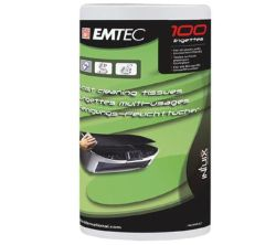 Emtec EKNLINRECH Refill - 100 Moist Cleaning Cloths