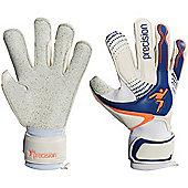 Precision Gk Fusion-X Quartz Surround Grip Goalkeeper Gloves Size - White