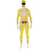 Yellow Power Ranger Morphsuit Medium