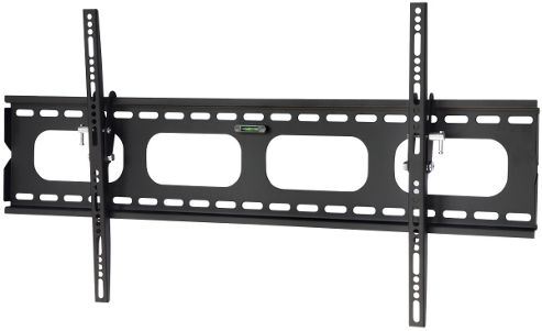 Black Universal Slim Tilting Wall Mount for up to 70 inch TVs