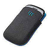 Research In Motion BlackBerry Curve 9220/9310/9320 Pocket Black with Sky Blue