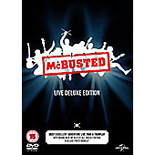 McBusted: Live Deluxe Edition DVD