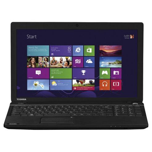 Toshiba Satellite C50D-A 15.6 inch Laptop AMD E1 4GB Memory 500GB Storage Black