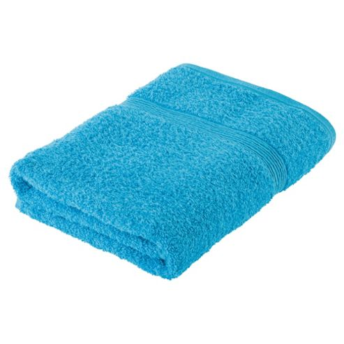 Tesco Fresh Touch Anti-Bacterial Bath Towel Blue