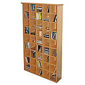 Techstyle CD Storage Shelves - Oak