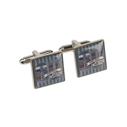 60th Birthday Denim Collection Cufflinks