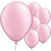 Pink Balloons - 11' Pearl Latex Balloon (6pk)