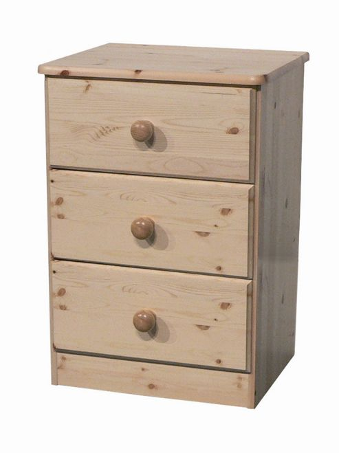 Oestergaard Onde Chest of Drawers with 3 Drawers - Honey lacquered