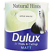 Dulux Matt Apple White 2.5L