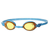 Speedo Junior Jet Blue Orange Goggles