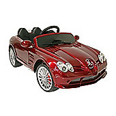 Kids Electric Car Mercedes Benz SLR 722S 12 Volt Red Gloss