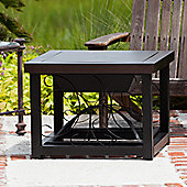 Sun Tastic Hammer Tone Cocktail Table Fire Pit