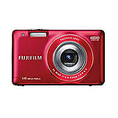 Fuji FinePix JX550 Camera Red 16MP 5xZoom 2.7LCD 720pHD 26mm Wide Lens