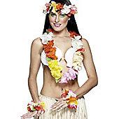 Multi Colour Hawaiian Leis Set