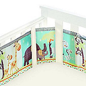 BreathableBaby Mesh Cot Liner Animal 2 by 2