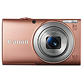 Canon PowerShot A4000 IS Pink Digital Camera