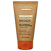 L'Oreal Sublime Bronze Self-Tan Gel Tinted 150ml