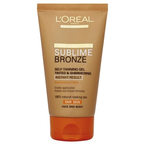 L'Oréal Sublime Bronze Self-Tan Tinted Gel 150ml
