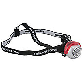 Yellowstone 5 LED Mini Head Torch with CR2032 3V Batteries