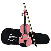 Forenza Uno Series Full Size Pink Violin Outfit