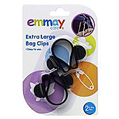 Emmay Extra Large Bag Clips (Twin Pack)