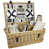 Wicker Valley Rope Handled 6 Person Hamper
