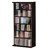 VCM Vetro CD / DVD Storage Tower - Black