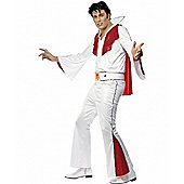 Elvis White and Red - Large