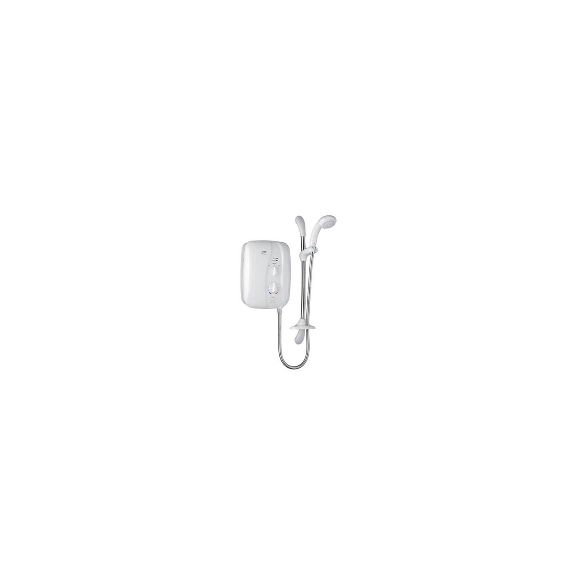 Mira Elite ST 9.8 kW Electric Shower with Sensi-Flo, White/Chrome at Tesco Direct