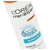 L'Oréal Men Expert Sensitive Shave Gel 200Ml