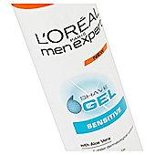 L'Oréal Men Expert Sensitive Shave Gel 200Ml
