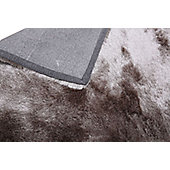 Leader Lifestyle Valencia Silver Grey Tufted Rug - 140 cm x 200 cm (4 ft 7 in x 6 ft 7 in)