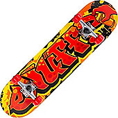 Enuff Graffiti II Red 7.5inch Mini Complete Skateboard