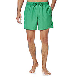 F&F Short Length Swim Shorts L Green