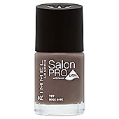 Rimmel London Salon Pro with Lycra Nail Polish 397 Beige Babe