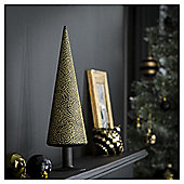 Tesco Black and Gold Deco Tree