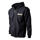 Call Of Duty Advanced Warfare Sentinel Task Force XL Full Length Zipper Hoodie - Gaming T-Shirts