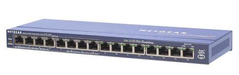 NETGEAR ProSafe 16 Port 10/100 Desktop Switch