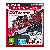 Need For Speed: Most Wanted - Essentials - PS3