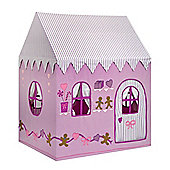Kiddiewinkles 2-in-1 Gingerbread Cottage & Sweet Shop Playhouse Tent, Large