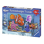 Finding Nemo - 2 x 12 Piece Puzzle