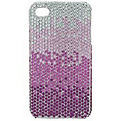 Tortoise™ Look Hard Case iPhone 4/4S Jewelled Pink