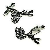 Badminton Novelty Themed Cufflinks