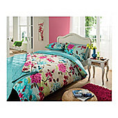 Catherine Lansfield Saigon Super King Size Quilt Set MULTI