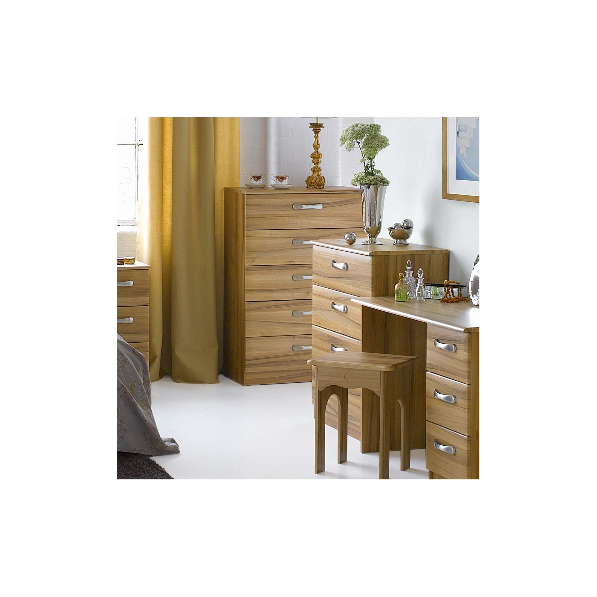 Alto Furniture Visualise Tipolo Five Drawer Chest at Tesco Direct