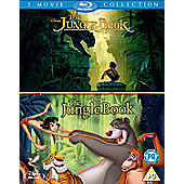 The Jungle Book Live Action and Animation Blu-ray