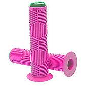 Redline Hex Pro Grips - Neon Pink