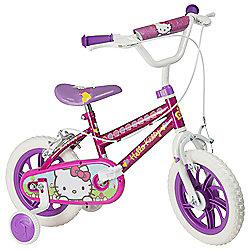 "Hello Kitty 12"" Kids' Bike with Stabilisers"