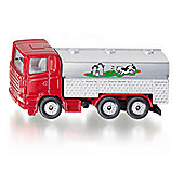 Model Car - Milk Collecting Truck, Red and Silver (1331) - SIKU