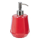Pied A Terre Pink Faceted Soap DispenserIn Pink